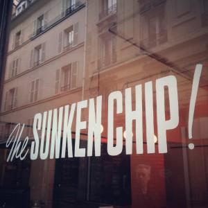 The Sunken Chip!, een Britse fish 'n chips shop in Parijs' Canal St. Martin-buurt; © Marjan Ippel