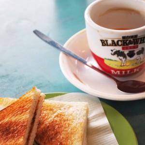 Hongkongse specialiteit: koffiethee; © Marjan Ippel