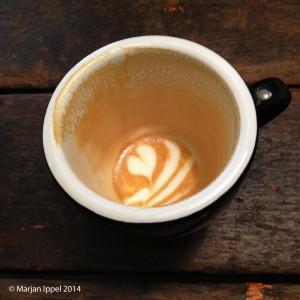Een latte is - in tegenstelling tot een ristretto - de slimste keus voor koffiekrakers