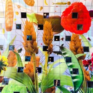 Het Markthalhoge kunstwerk van Arno Coenen; © Marjan Ippel