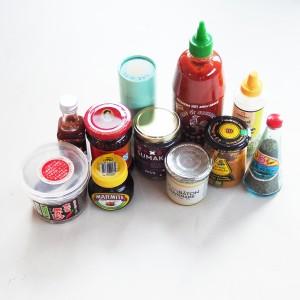 My beautiful condiments; © Marjan Ippel