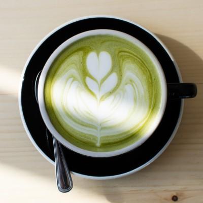 Matcha latte van Chalait in NYC; © Chalait