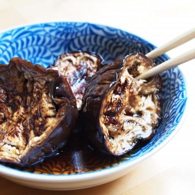Japanse gemarineerde aubergines; © Marjan Ippel