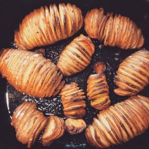Hasselbackspotatis: Zweedse accordeonaardappels; © Marjan Ippel