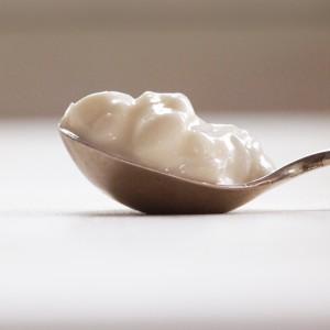 Yoghurt meets kwark in het IJslandse skyr;  © Marjan Ippel