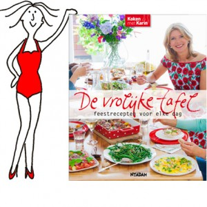 Inmiddels het tiende kookboek van foodblogger avant-le-hype 'Koken met Karin' Luiten