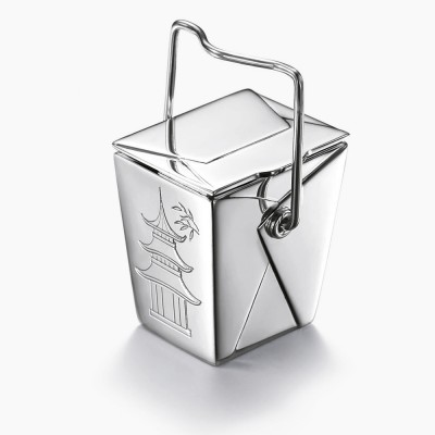 Pillendoosje 'noodle box' in de serie Tiffany X Dover Street Market NY