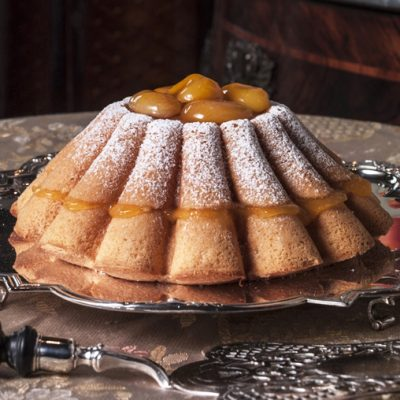 Biscuit de Savoie uit het boek 'Oranje toetjes'.