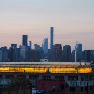 Dakfarm van Gotham Greens, NYC; © Marjan Ippel