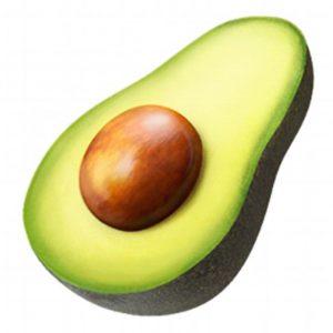 De avocado-generatie heeft z'n eigen emoji