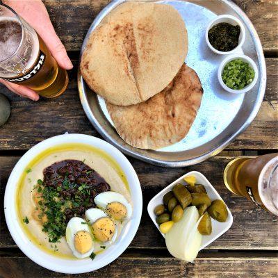Typisch TLV-Food; © Marjan Ippel